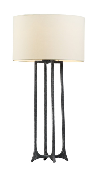 Maxim Anvil 1-Light Table Lamp in Natural Iron