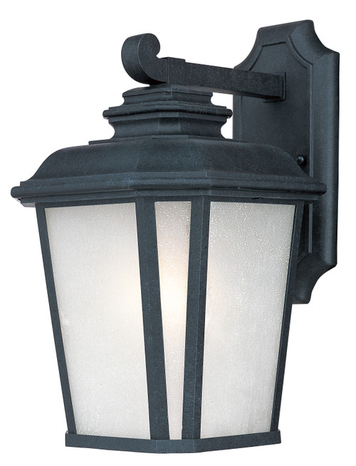 Maxim Radcliffe LED 1-Light Small Outdoor Wall in Black Oxide