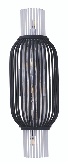 Maxim Aviary LED 5-Light Wall Mount in Anthracite