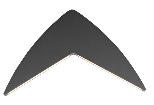 ET2 Alumilux V LED Outdoor Wall Sconce in Bronze