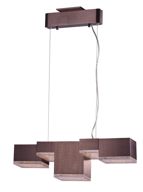 ET2 Pizzazz LED Pendant in Coffee