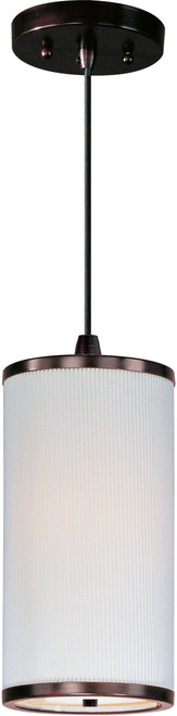 ET2 Elements 1-Light Pendant with Cord in Oil Rubbed Bronze
