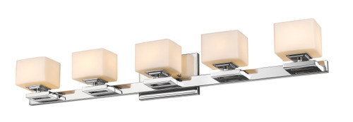 Z-Lite Cuvier Collection 5 Light Vanity in Chrome Finish, 1914-5V-CH