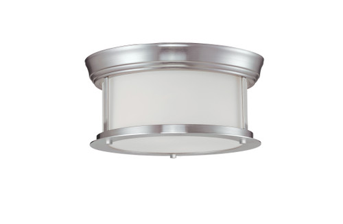 Z-Lite Sonna Collection 2 Light Ceiling in Brushed Nickel Finish, 2002F10-BN