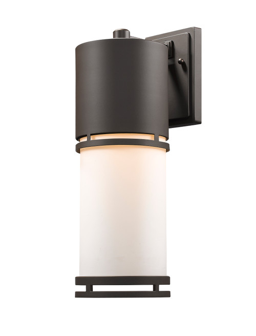 Z-Lite Luminata Collection Outdoor LED Wall Light in Deep Bronze Finish, 560B-DBZ-LED
