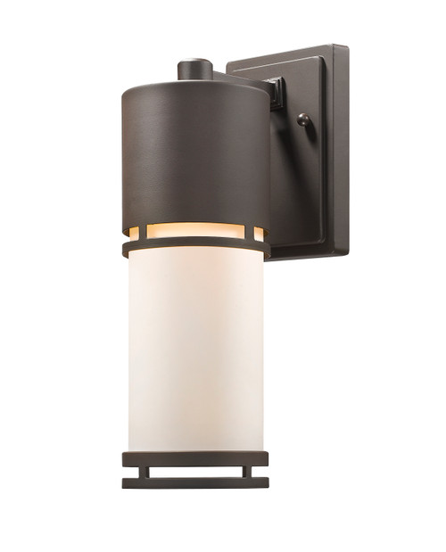 Z-Lite Luminata Collection Outdoor LED Wall Light in Deep Bronze Finish, 560M-DBZ-LED