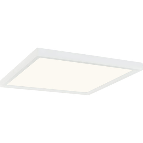 Quoizel Outskirts Flush Mount in White Lustre Finish, OST1615W