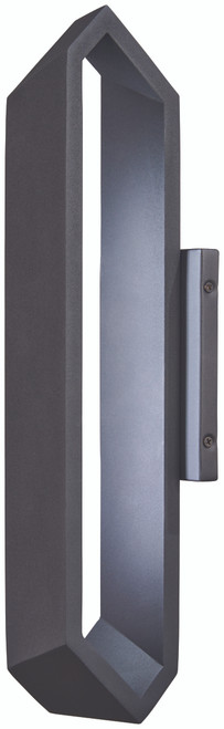George Kovacs Pitch LED Wall Sconce in Coal, P1205-066-L