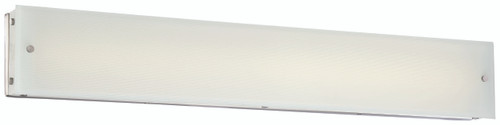 George Kovacs Button Bathroom Fixture in Brushed Nickel, P1324-084-L
