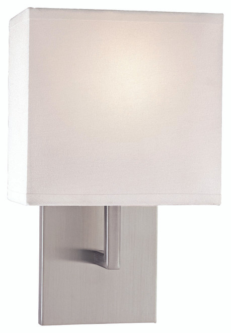George Kovacs Wall Sconces 1 Light Wall Sconce in Brushed Nickel, P470-084