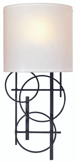 George Kovacs Wall Sconces 1 Light Wall Sconce in Coal, P5131-066