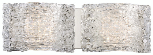 George Kovacs Forest Ice LED Bathroom Fixture in Chrome, P5282-077-L