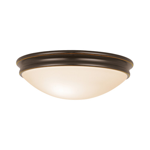 Access Lighting Atom Flush Mount in Oil Rubbed Bronze with Opal Glass, 20724-ORB/OPL
