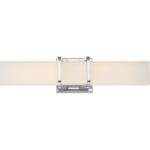 Quoizel Axis Bath Light in Polished Chrome Finish, PCAS8520C