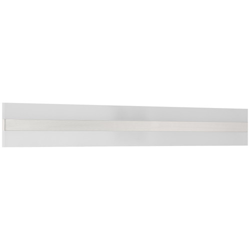 Access Lighting Netherton Bi-Directional LED Vanity in Brushed Steel with Acrylic Lens Glass, 62593LEDD-BS/ACR