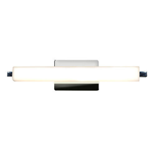 Access Lighting Chic LED Vanity in Chrome with Opal Glass, 70035LEDD-CH/OPL