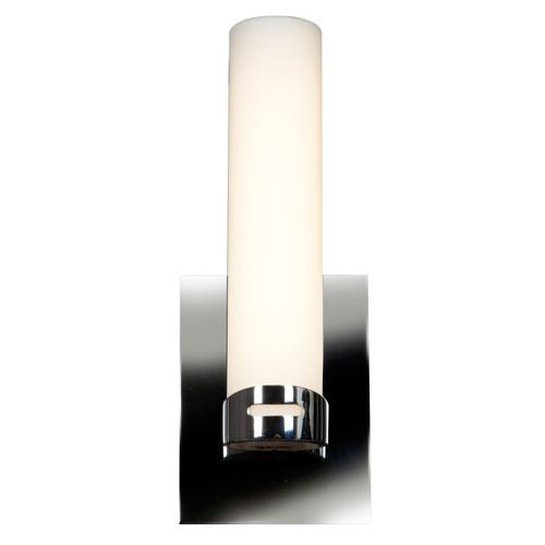 Access Lighting Chic LED Wall Sconce & Vanity in Chrome with Opal Glass, 70037LEDD-CH/OPL