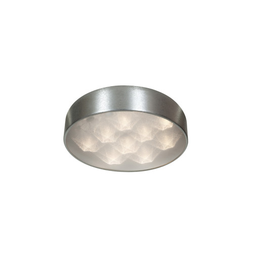 Access Lighting Meteor LED Flushmount in Brushed Silver with Acrylic Lens Glass, 70080LEDD-BSL/ACR