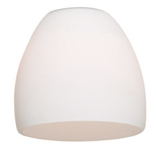 Access Lighting Cone Glass Shade in  with Opal Glass, 968ST-OPL