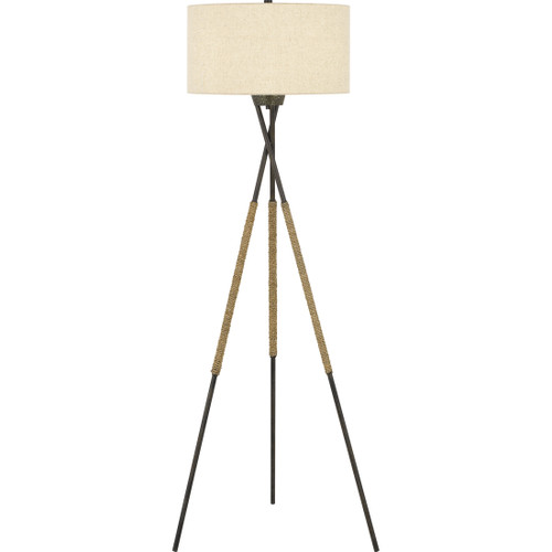 Quoizel Pembroke Floor Lamp 1 Light, Tarnished Bronze