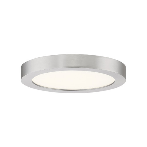 Quoizel Outskirts Flush Mount in Brushed Nickel Finish, OST1708BN