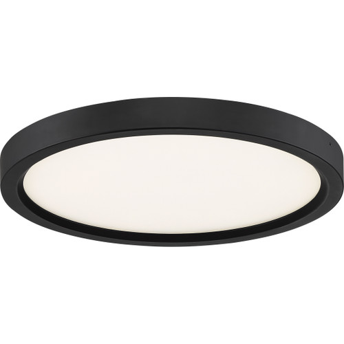 Quoizel Outskirts Flush Mount in Oil Rubbed Bronze Finish, OST1711OI