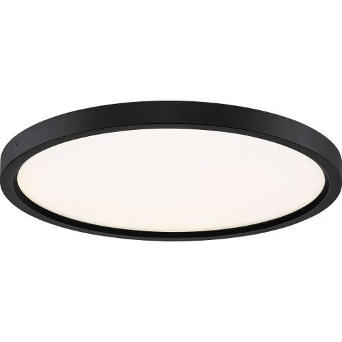 Quoizel Outskirts Flush Mount in Oil Rubbed Bronze Finish, OST1715OI