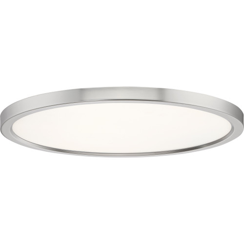 Quoizel Outskirts Flush Mount in Brushed Nickel Finish, OST1720BN