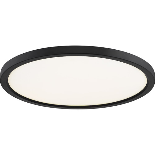 Quoizel Outskirts Flush Mount in Oil Rubbed Bronze Finish, OST1720OI