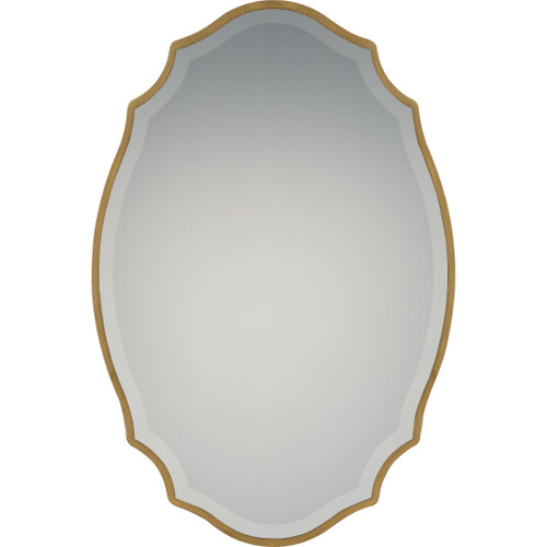 Quoizel Monarch Mirror in Gallery Gold Finish, QR2799