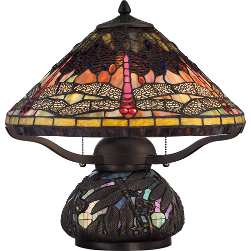 Quoizel 2 Light Copperfly Table Lamp in Imperial Bronze Finish, TF1851TIB