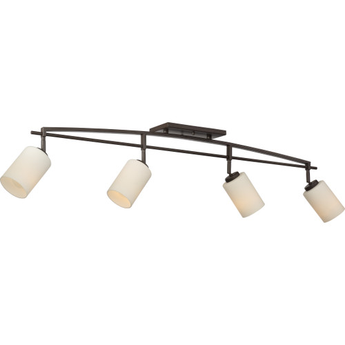 Quoizel 4 Light Taylor Track Light in Western Bronze Finish, TY1444WT