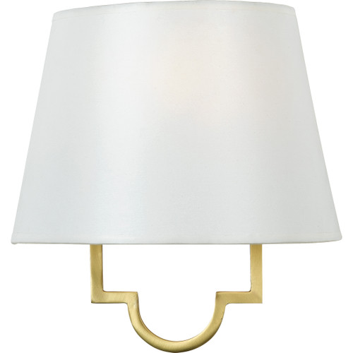 Quoizel 1 Light Millennium Wall Sconce in Gallery Gold Finish, LSM8801GY