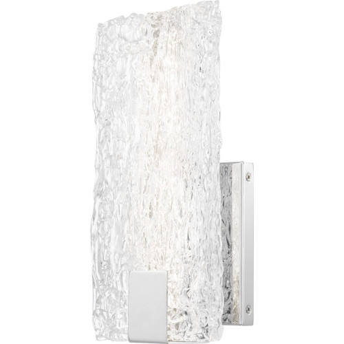Quoizel Winter Wall Sconce in Polished Chrome Finish, PCWR8506C