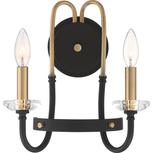Quoizel Tanner Wall Sconce 2 Light, Western Bronze