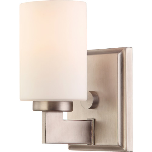 Quoizel Taylor Wall Sconce 1 Light, Antique Nickel