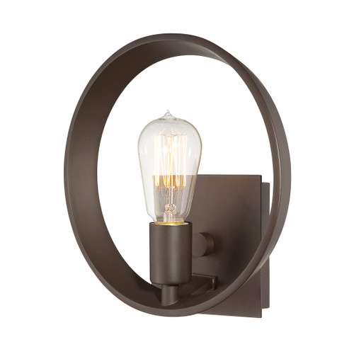 Quoizel Theater Row Wall Sconce 1 Light, Western Bronze