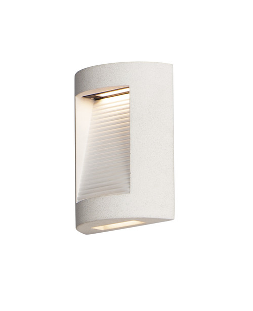 ET2 Boardwalk Small LED Outdoor Wall Sconce in Sandstone