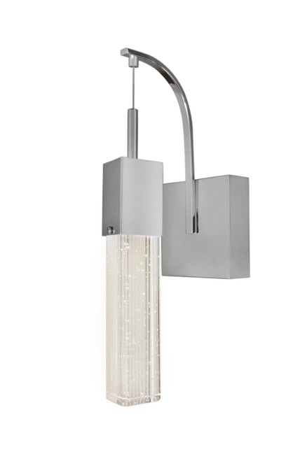 ET2 Fizz III 1-Light LED Wall Sconce in Polished Chrome