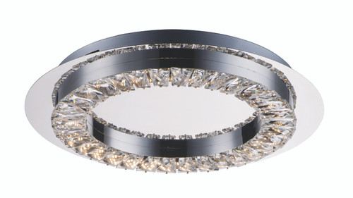 ET2 Charm LED Ceiling Mount in Polished Chrome