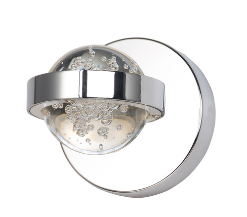ET2 Cosmo LED Wall Sconce in Polished Chrome