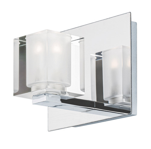 ET2 Blocs LED Wall Sconce in Polished Chrome