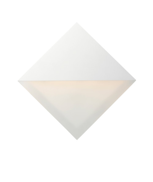 ET2 Alumilux: Glow LED Outdoor Wall Sconce in White