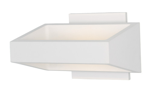 ET2 Alumilux: Titan LED Outdoor Wall Sconce in White