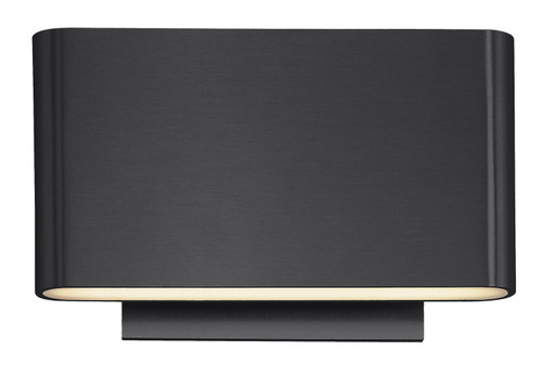 ET2 Alumilux: Spartan LED Outdoor Wall Sconce in Bronze