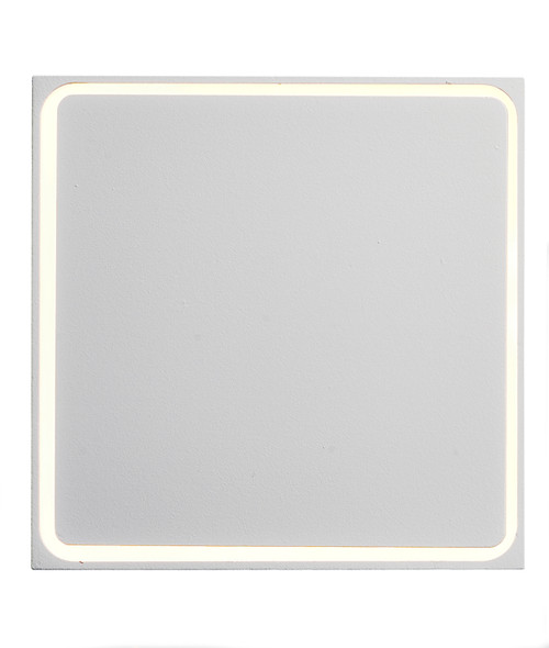 ET2 Alumilux: Outline LED Outdoor Wall Sconce in White