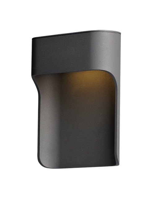 ET2 Alumilux: Ledge LED Outdoor Wall Sconce in Bronze