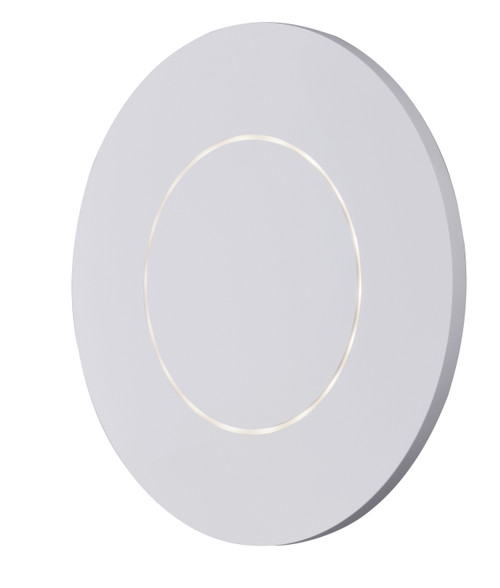 ET2 Alumilux: Omicron LED Outdoor Wall Sconce in White