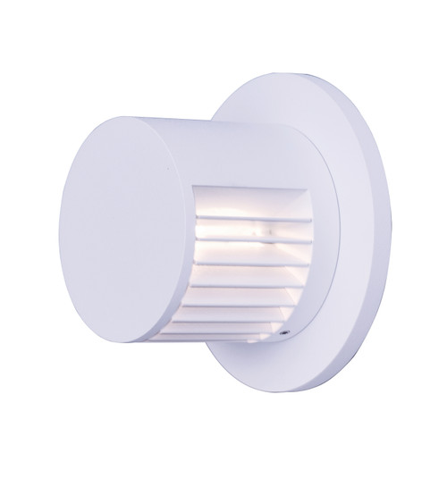 ET2 Alumilux: Spoked LED Outdoor Wall Sconce in White