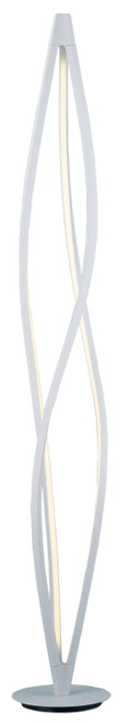 ET2 Cyclone LED Floor Lamp in Matte White